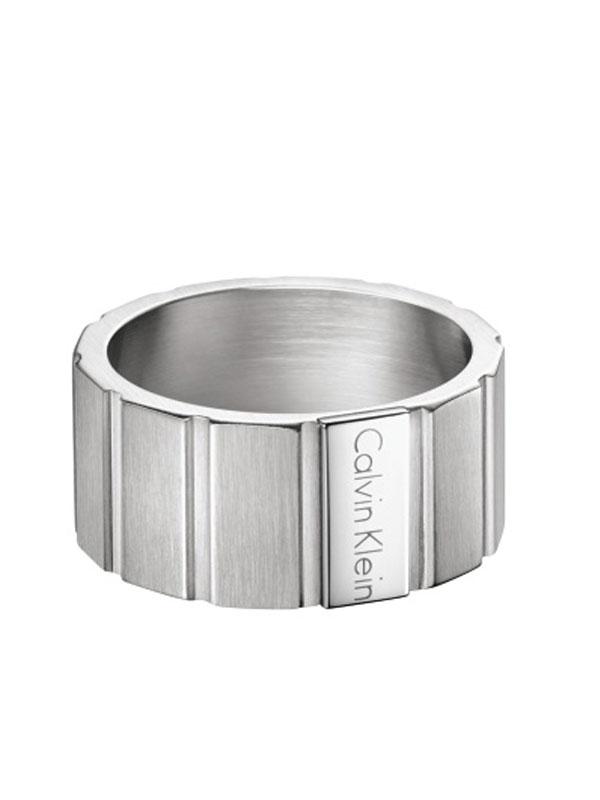 Calvin Klein Plate Ring 19mm KJ5SMR080109