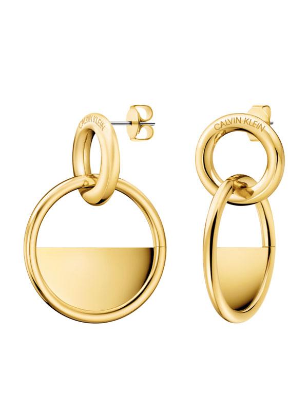 Calvin Klein LOCKED hanging earrings KJ8GJE100100
