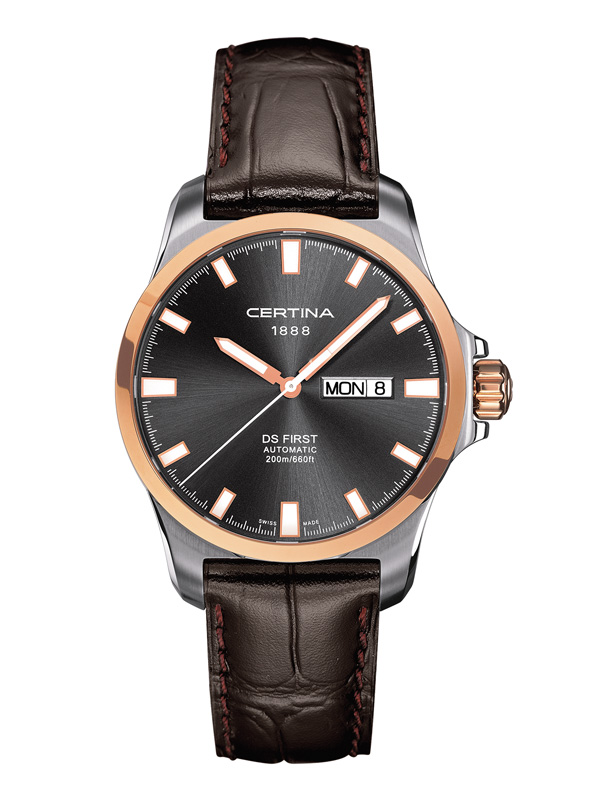 Certina DS First Automatic Day-Date C014.407.26.081.00