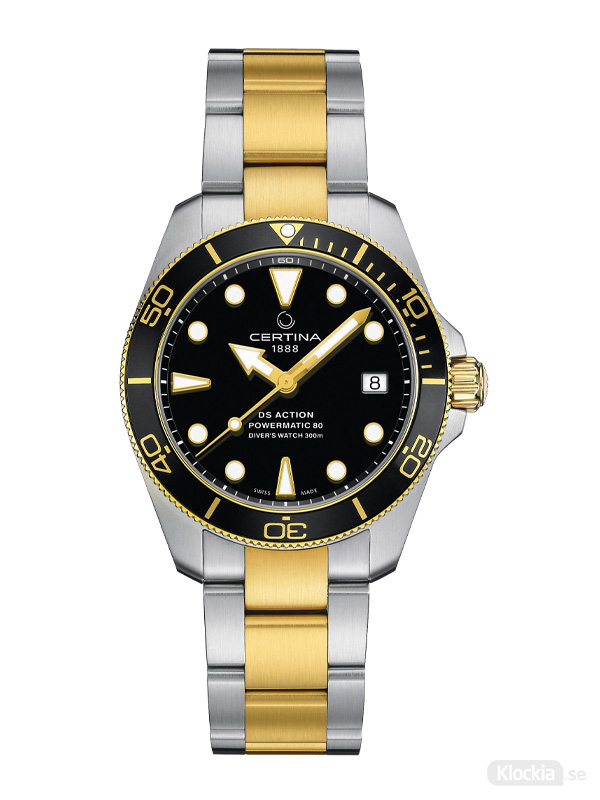 Herrklocka CERTINA DS Action Diver 38mm C032.807.22.051.00