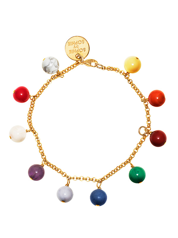 SOPHIE by SOPHIE Childhood Bracelet Gold plated silver B0193GPS0-OS