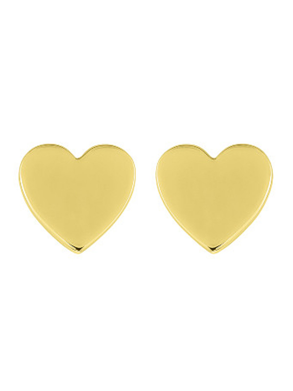 SOPHIE by SOPHIE Heart mini studs Gold plated silver E1451GPS0-OS