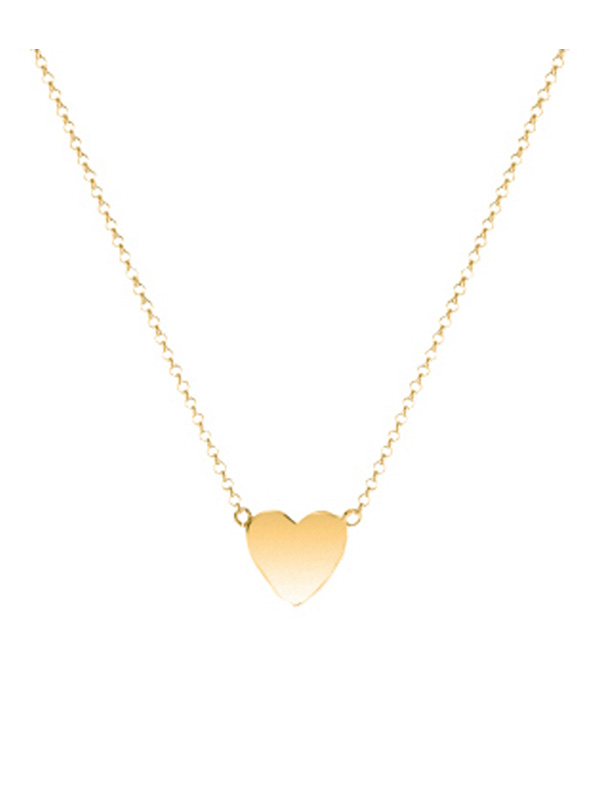 SOPHIE by SOPHIE Mini heart necklace Gold plated silver N1457GPS0-OS