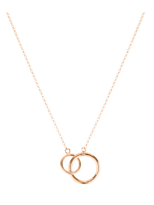 SOPHIE by SOPHIE Mini circle necklace Gold plated silver N1458GPS0-OS