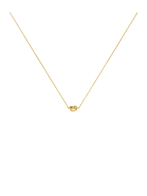 SOPHIE by SOPHIE Knot necklace Gold plated silver N1588GPS0-OS