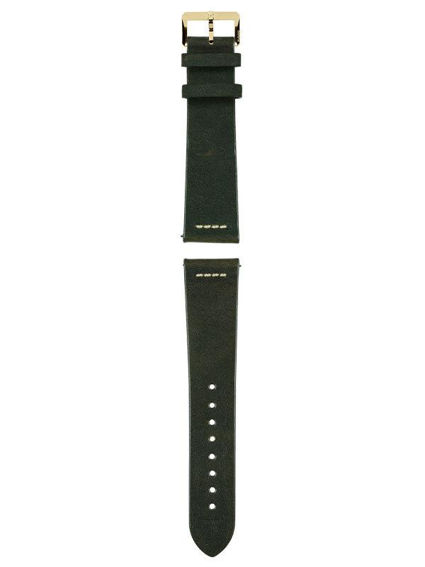 RADO Armband Läder Grönt R070914901
