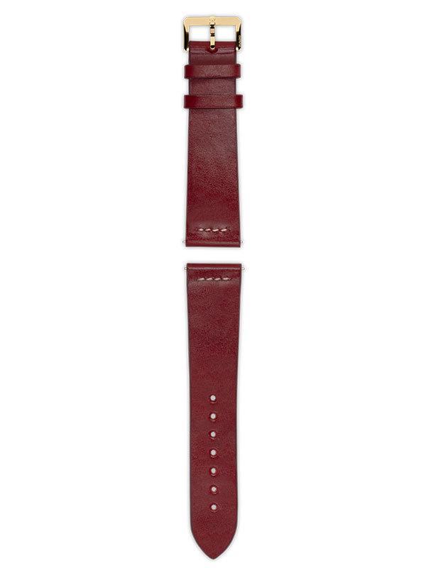 RADO Armband Läder Röd R070915901