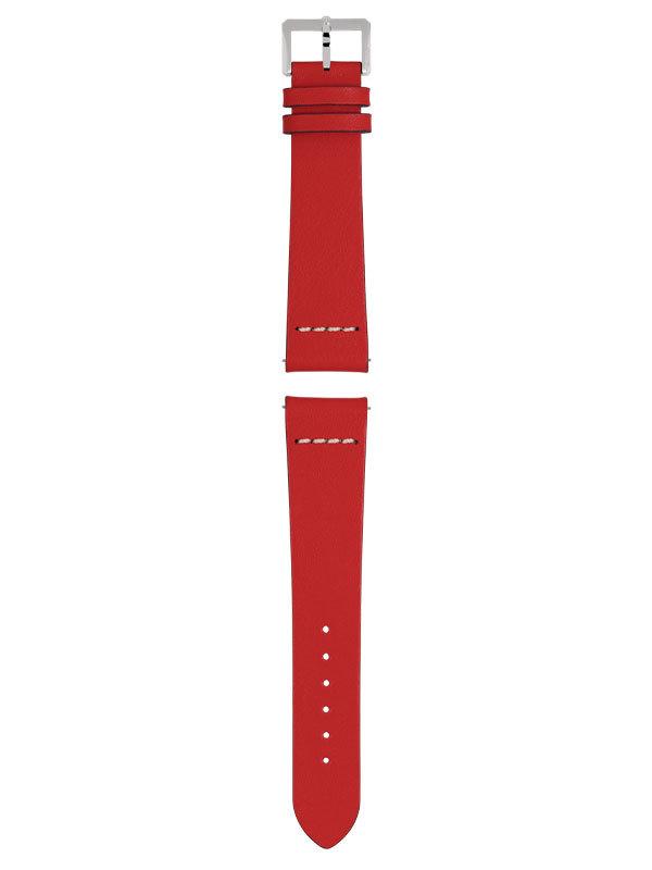 RADO Armband Läder Röd R070916501