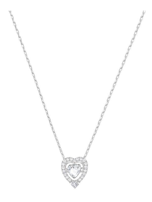 Swarovski Sparkling Dance Heart Halsband 5272365