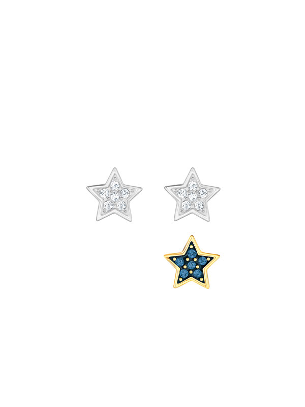 Swarovski Crystal Wishes Star Örhängen Set 5276612