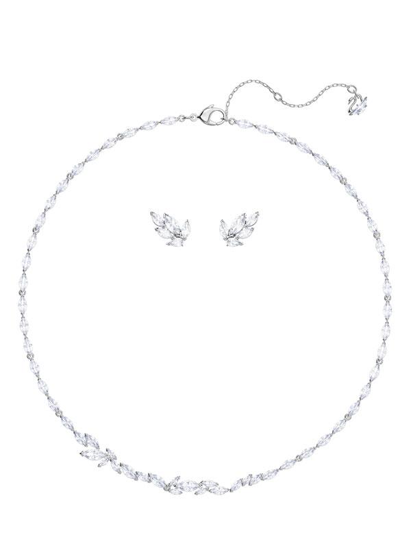 Swarovski Louison Set Medium Halsband & Örhängen 5435164