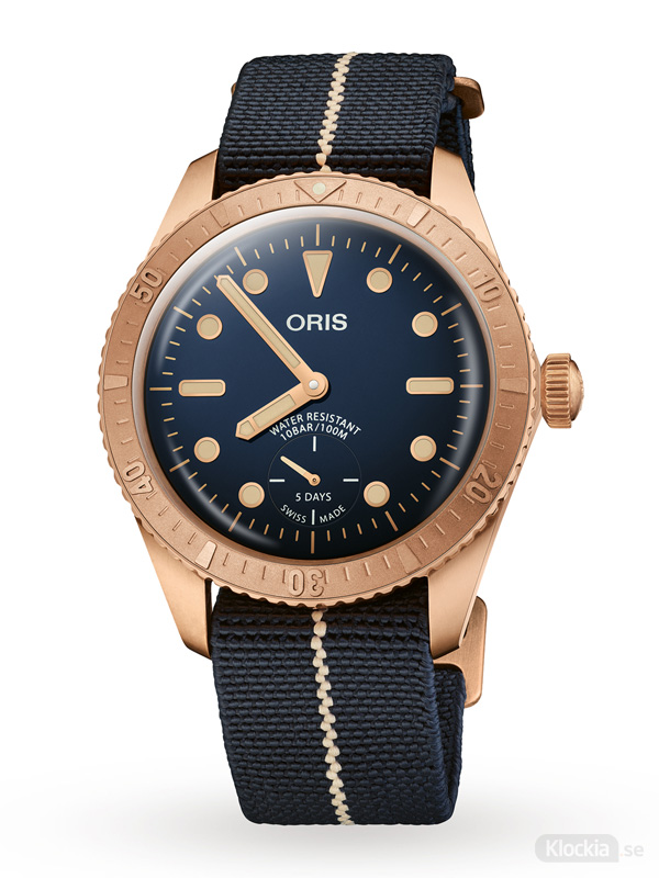 ORIS Carl Brashear Calibre 401 Limited Edition 401-7764-3185-Set