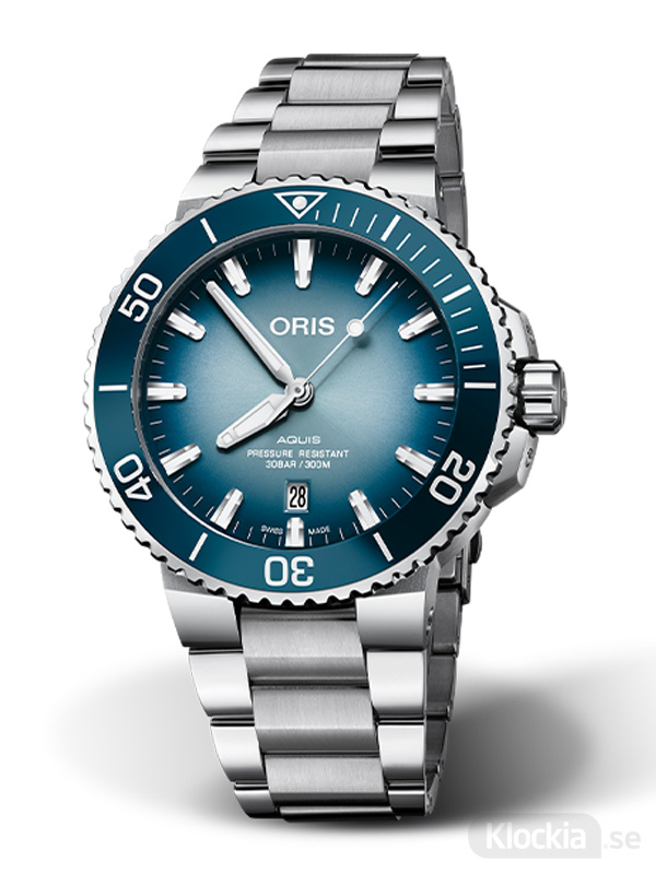 ORIS Aquis Date Lake Baikal Limited Edition 733-7730-4175-Set