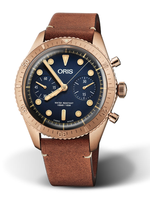 Oris Carl Brashear Chronograph Limited Edition 771-7744-3185-Set-LS