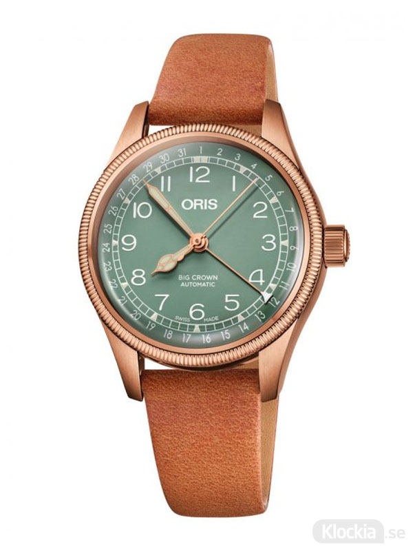 ORIS Big Crown Bronze Pointer Date 36mm 754-7749-3167-07-5-17-66BR - Damklocka