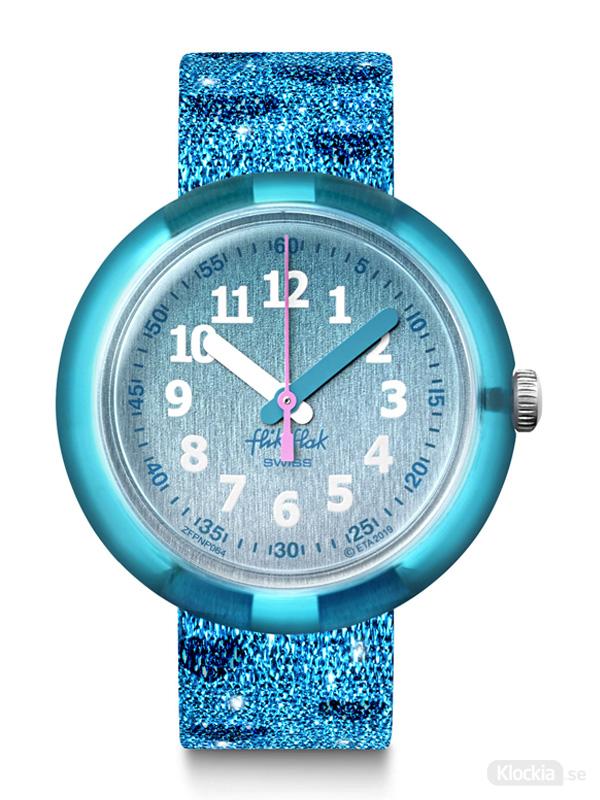 Flik Flak Turquoise Sparkle FPNP064