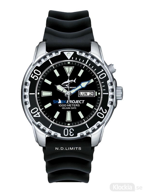 Chris Benz Deep - 1000m Sharkproject Edition CB-1000-SP-KBS