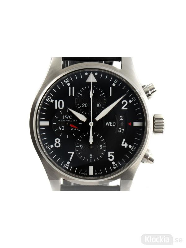 Begagnad IWC Fliegeruhr 43 Chronograph IW377701