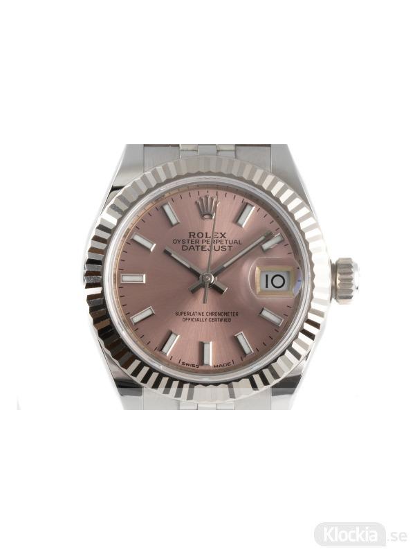 Begagnad Rolex Datejust 28 18c White Gold/Steel 279174
