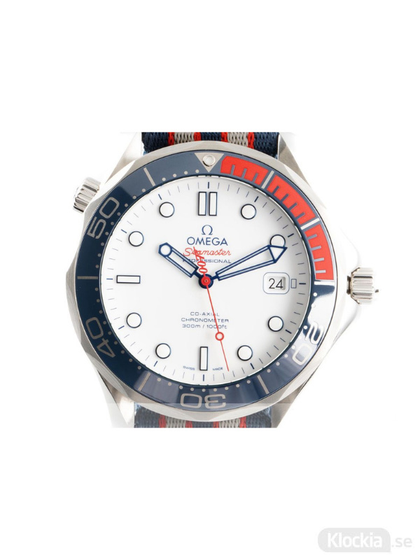 Begagnad Omega Seamaster 41 Commanders Watch Co-Axial Limited Edition 212.32.41.20.04.001