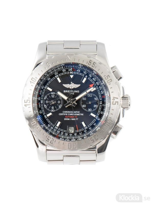 Begagnad Breitling Skyracer GMT 42 Chronometer Chronograph A27362