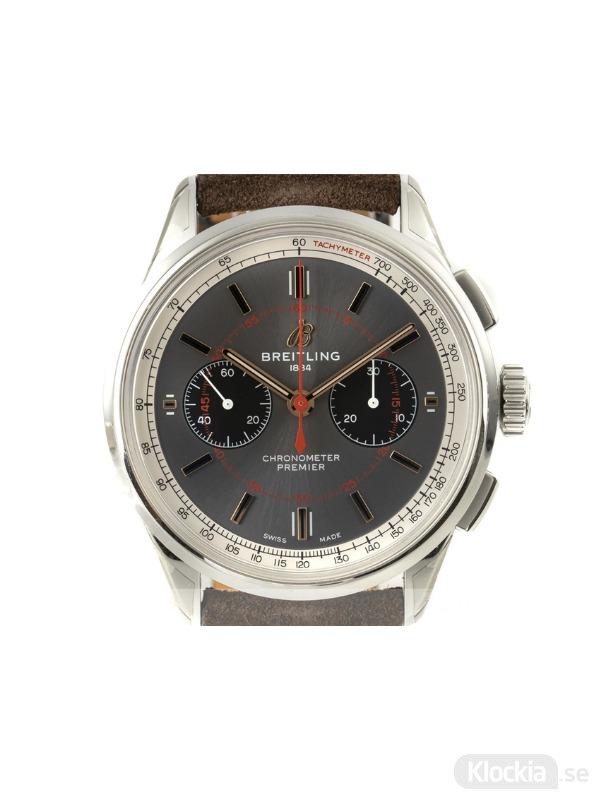 Begagnad Breitling Premier B01 42 Chronograph Wheels & Waves Limited Edition AB0118