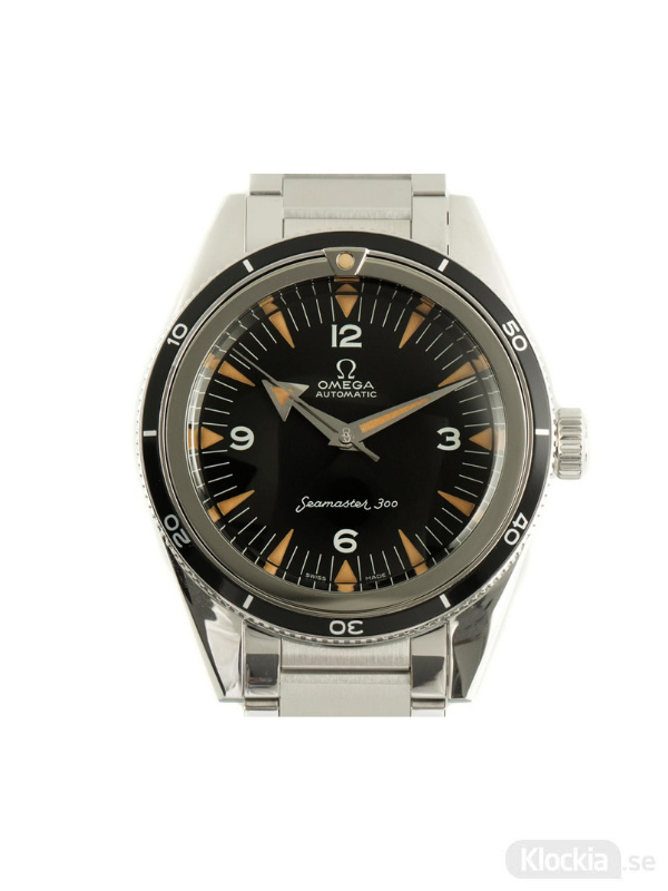 Begagnad Omega Seamaster 300 1957 Trilogy Co-Axial Master Chronometer Limited Edition