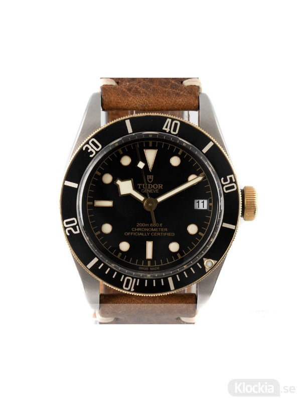 Begagnad Tudor Black Bay 41 18c Gold/Steel Chronometer 79733N