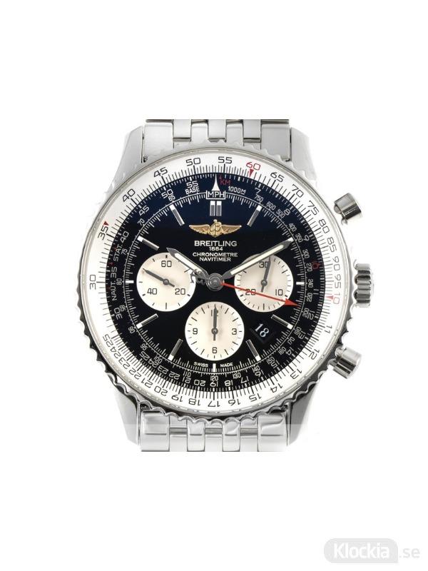 Begagnad Breitling Navitimer B01 46 Chronometer Chronograph AB012721/BD09