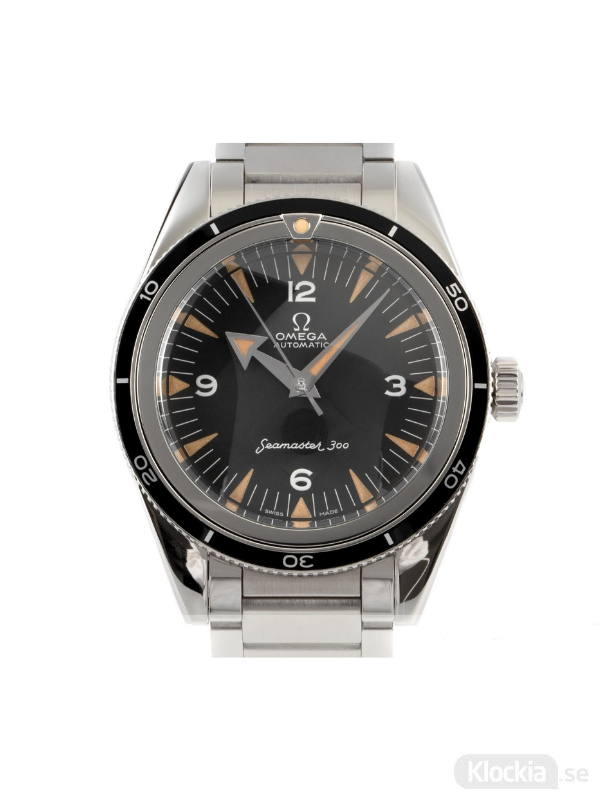 Begagnad Omega Seamaster 300 1957 Trilogy Co-Axial Master Chronometer 39 Limited Edition