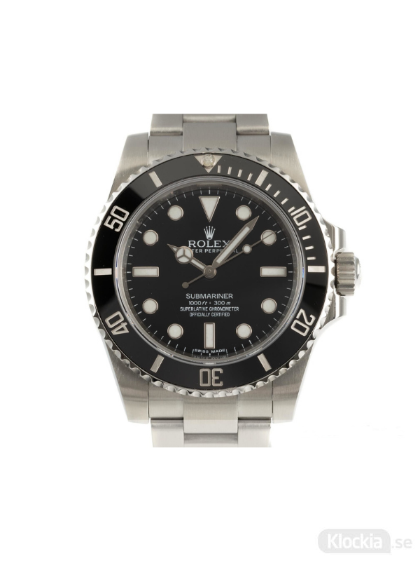 Begagnad Rolex Submariner 40 Oyster Perpetual 114060