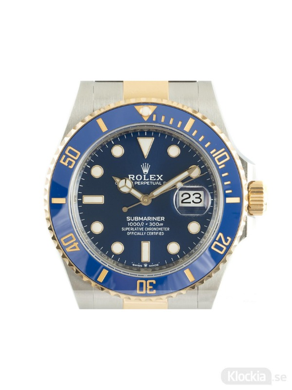 Begagnad Rolex Submariner 41 18c Gold/Steel Oyster Perpetual 126613LB