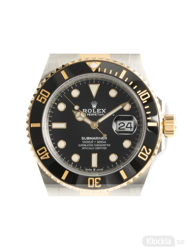 Begagnad Rolex Submariner 41 18c Gold/Steel Oyster Perpetual 126613LN