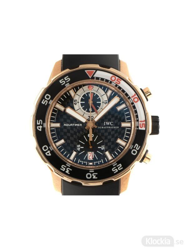 Begagnad IWC Aquatimer Chronograph 18c Rose Gold IW376905