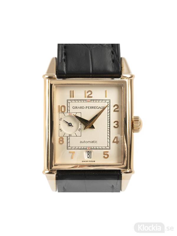 Begagnad Girard-Perregaux Vintage 1945 18c Gold 2596