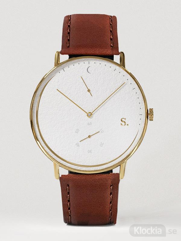 Herrklocka Sandell Day Plus Brown leather SSW40-BRL
