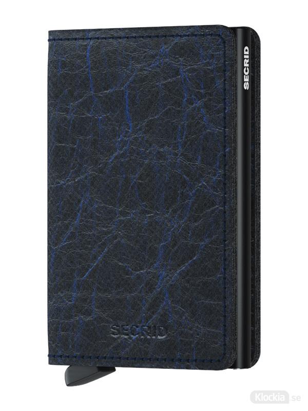 Plånbok SECRID Slimwallet Crunch Blue
