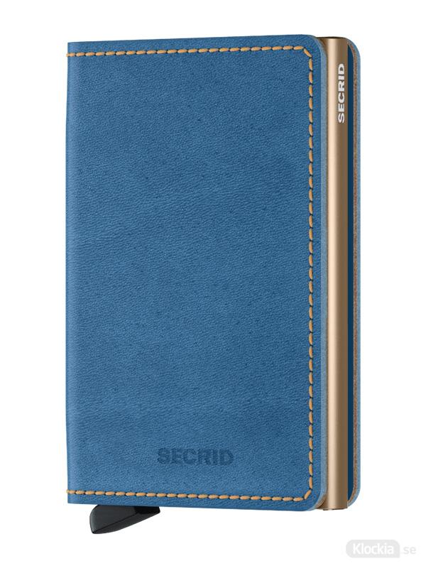 Plånbok SECRID Slimwallet Indigo 3-Sand