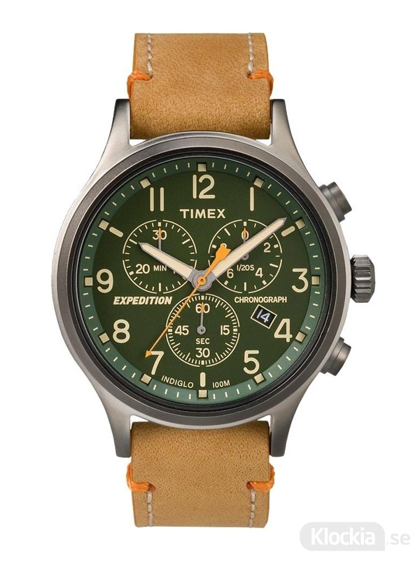 Herrklocka TIMEX Expedition Scout Chronograph 42mm TW4B04400