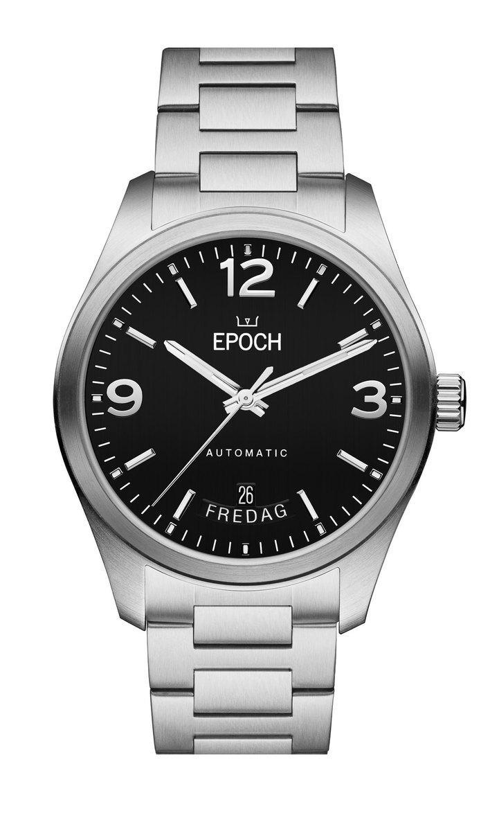 Herrklocka EPOCH Automatic Calendar Black EP3512
