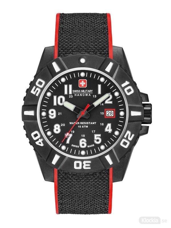 Swiss Military Hanowa Black Carbon 44mm 6-4309.17.007.04