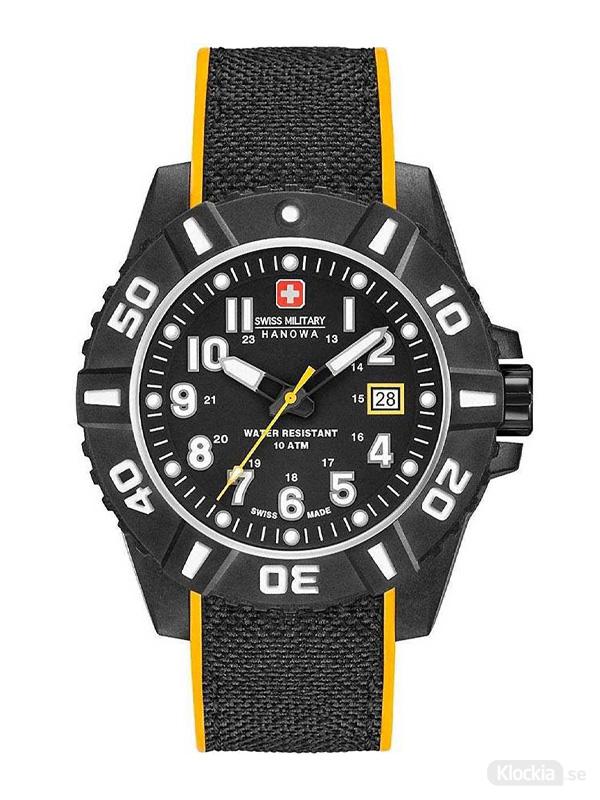 Swiss Military Hanowa Black Carbon 44mm 6-4309.17.007.79