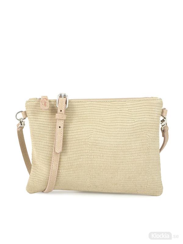 C.Oui Python Clutch Bag Toscane 28 - Beige TOS28PY