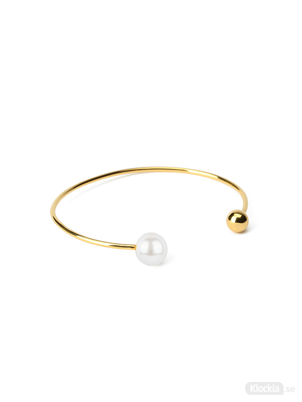 Syster P Armband Pearly Double Pearl  BG1215WH