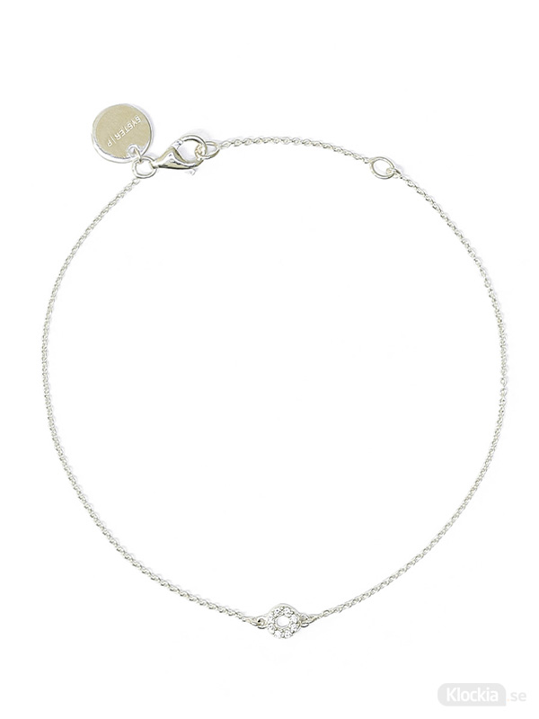 Syster P Armband Mini O - Silver BS1245