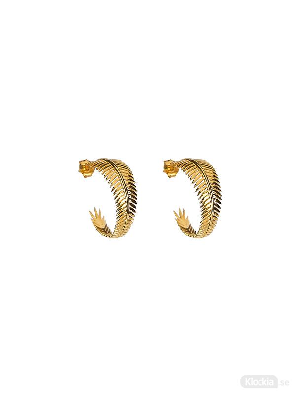Syster P Örhängen Palm Spring - Guld EG1173