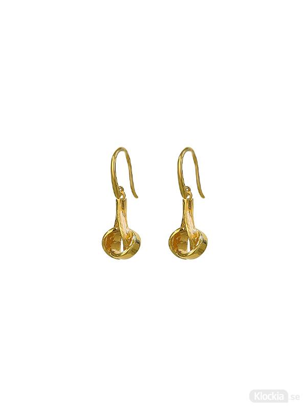 Syster P Örhängen Tied - Guld EG1180