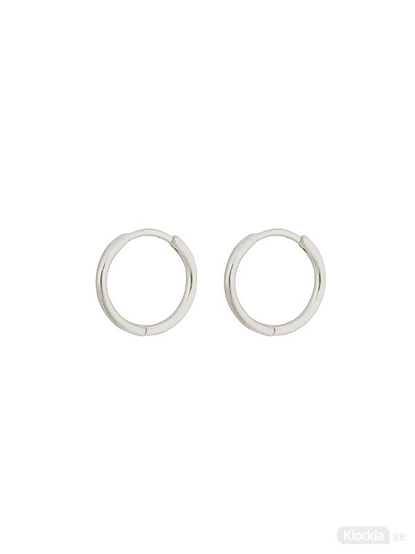 Syster P Örhängen Small Hoops Beloved - Silver ES1088