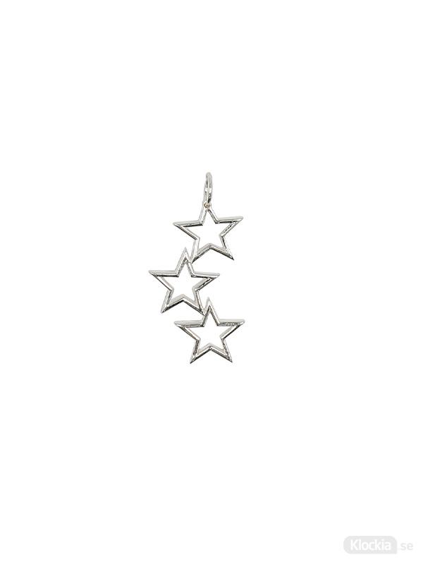 Syster P Beloved Mega Berlock Silver Triple Star ES1203