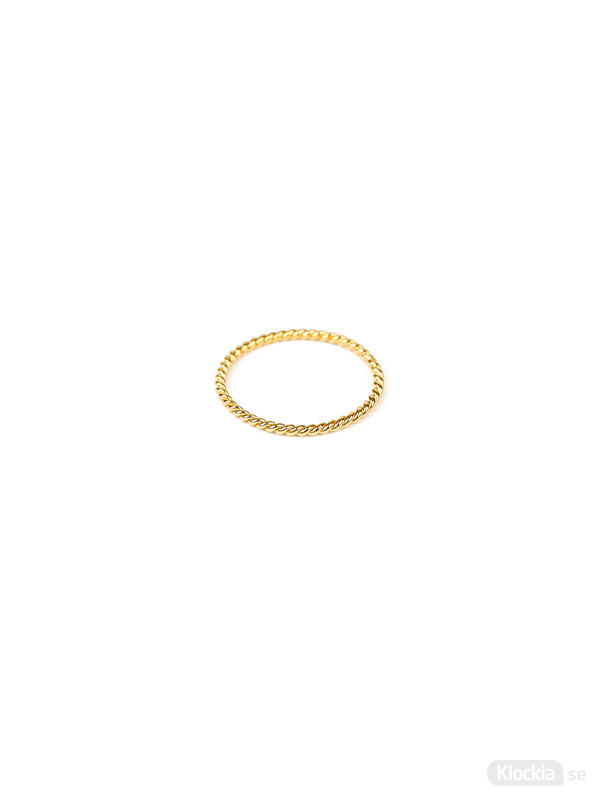 Syster P Ring Tiny Twisted - Guld RG1168